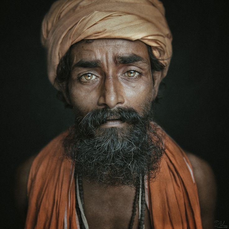 Those eyes - Sadhu eyes from Varanasi, Uttar Pradesh, India