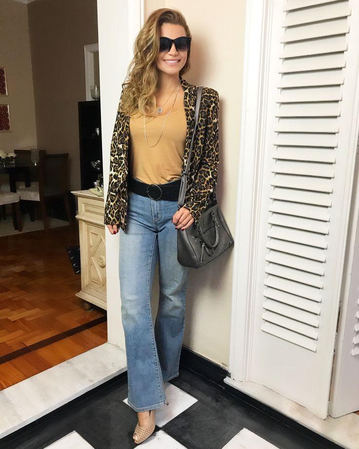 Jeans e onçinha