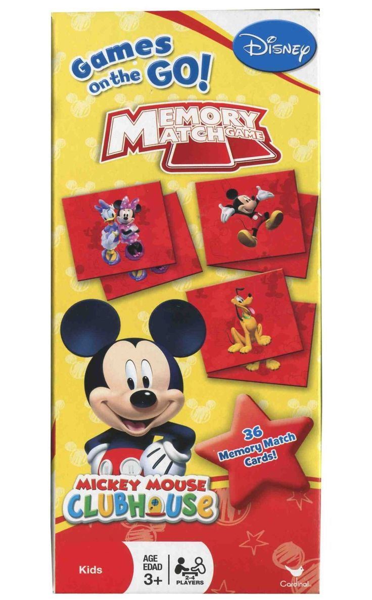 22 best mickey minnie images on pinterest birthday party ideas amazon com disney mickey mouse clubhouse memory match game toys games