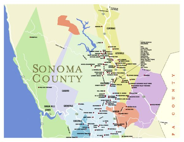 Northern California Wine Country Bed And Breakfast