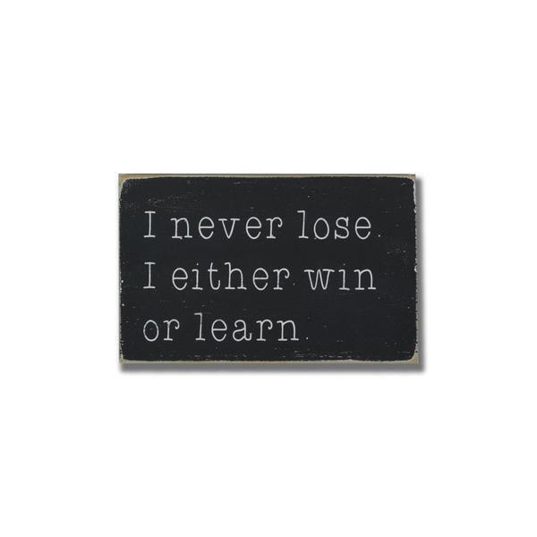 I Never Lose Little