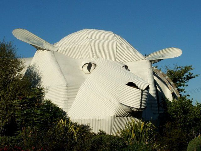 Animal Houses: Ten Fun Animal-Shaped Buildings