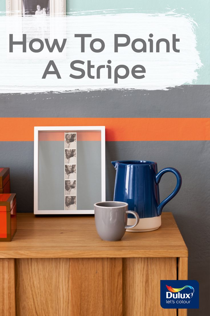Paint the perfect stripe the next time you redecorate.