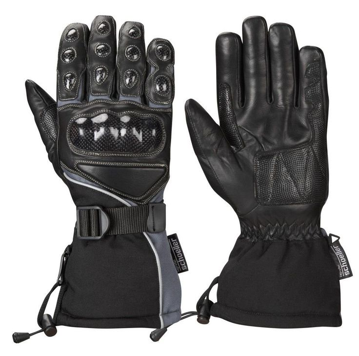 CARBON WINTER GLOVE HI VIZ - Speedwear Ltd. Our high quality waterproof #motorcycle gloves are perfect for winter riding.
