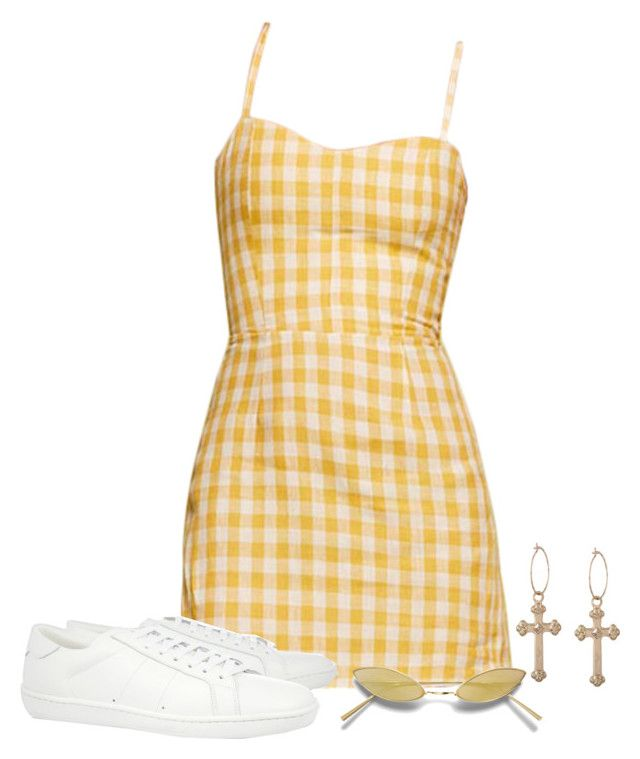 """""""Untitled #746"""" by lady99inred ❤ liked on Polyvore featuring Yves Saint Laurent"""