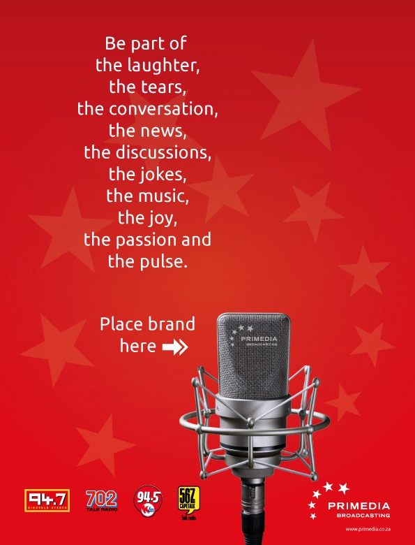 Primedia Ad - Place brand here!
