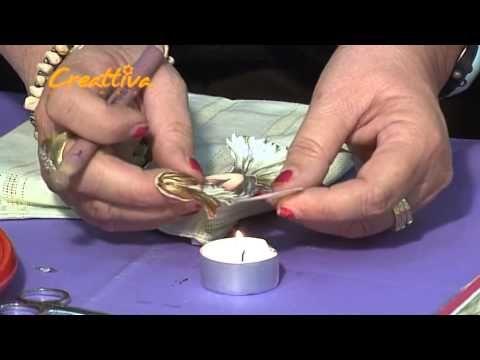 Decoupage 3D Sospeso na tkaninie - tutorial DIY - YouTube