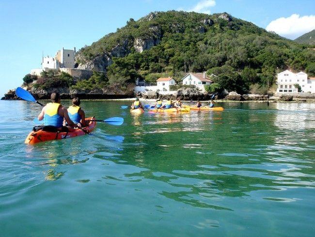 Kayaking Arrabida, Sesimbra - Go Discover Portugal travel