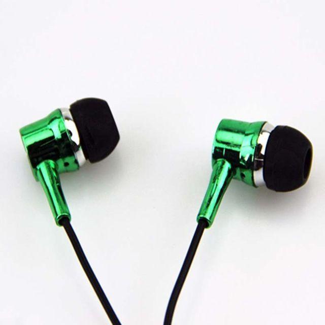 3.5mm mobile phone headset with microphone ear fat line music explosion earphone #XUSHIWEI