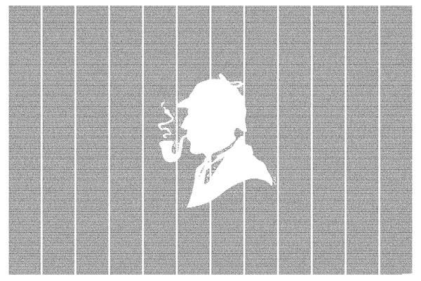 The Adventures of Sherlock Holmes - Postertext