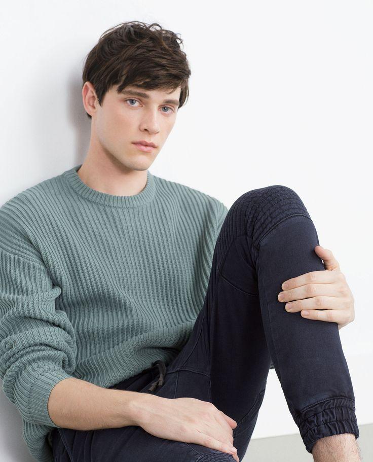 calichele Luke Powell for Zara FW15   ph. ? (via)