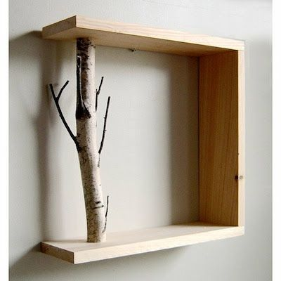 Ashbee Design: Putting Branches to Use • Shelf Supports