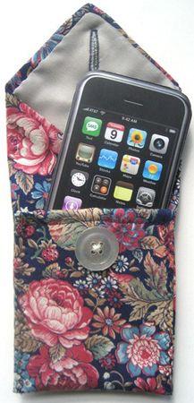 Old necktie turned gadget holder or wallet! 4 sale