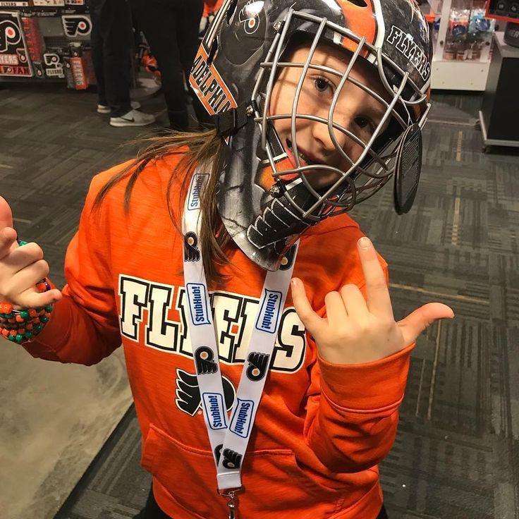 Hockey girl by @lexijones288 Follow @PhiladelphiaFlyersshop for more #PhiladelphiaFlyers #Philadelphia #Flyers #PhiladelphiaFlyersshop #repost #flyersfans #flyershockey #nhlflyers #flyersnation #jerseys #Hockey helmet