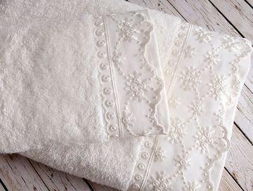 Ręcznik koronkowy, 50x90 cm