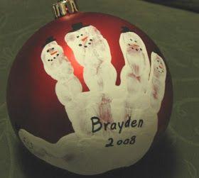 A Heart For Home: Cute Christmas Ornament Idea