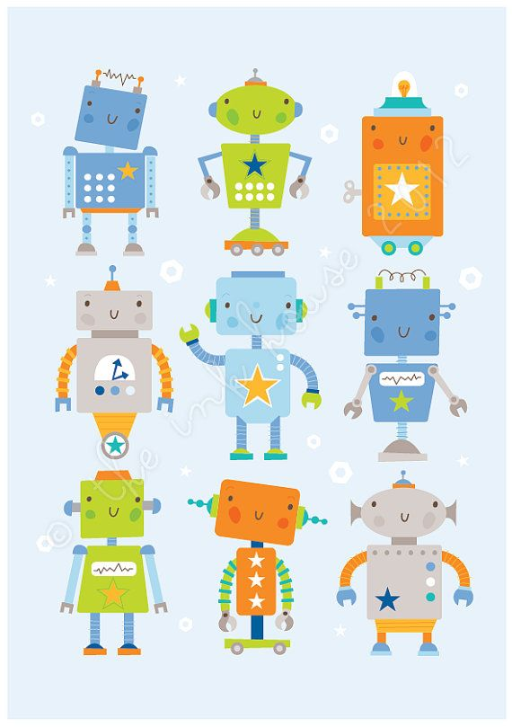 Robot Print door het huis van inkt  Deze Robot print maakt een leuke toevoeging aan een baby kinderdagverblijf of kinderkamer.  Er zijn twee versies beschikbaar: blauwe achtergrond of witte achtergrond  Er zijn andere prints die coördineren met dit ontwerp.  * * * * * * * * * * * * * * * * * * * * * * * * * * * * * * * * * * * * * * * * * * * * * * * * * * * *  PRINT afmetingen: A4 / 297 x 210 mm / 11,7 x 8.3 in Het kan worden gekapt om een 8 x 10-frame passen.  GROTER? Ga naar deze…