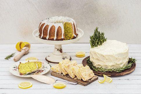 I s citronovými dezerty si báječně osladíte život! Zkuste drobenkové řezy, rozmarýnový dort či makovou bábovku