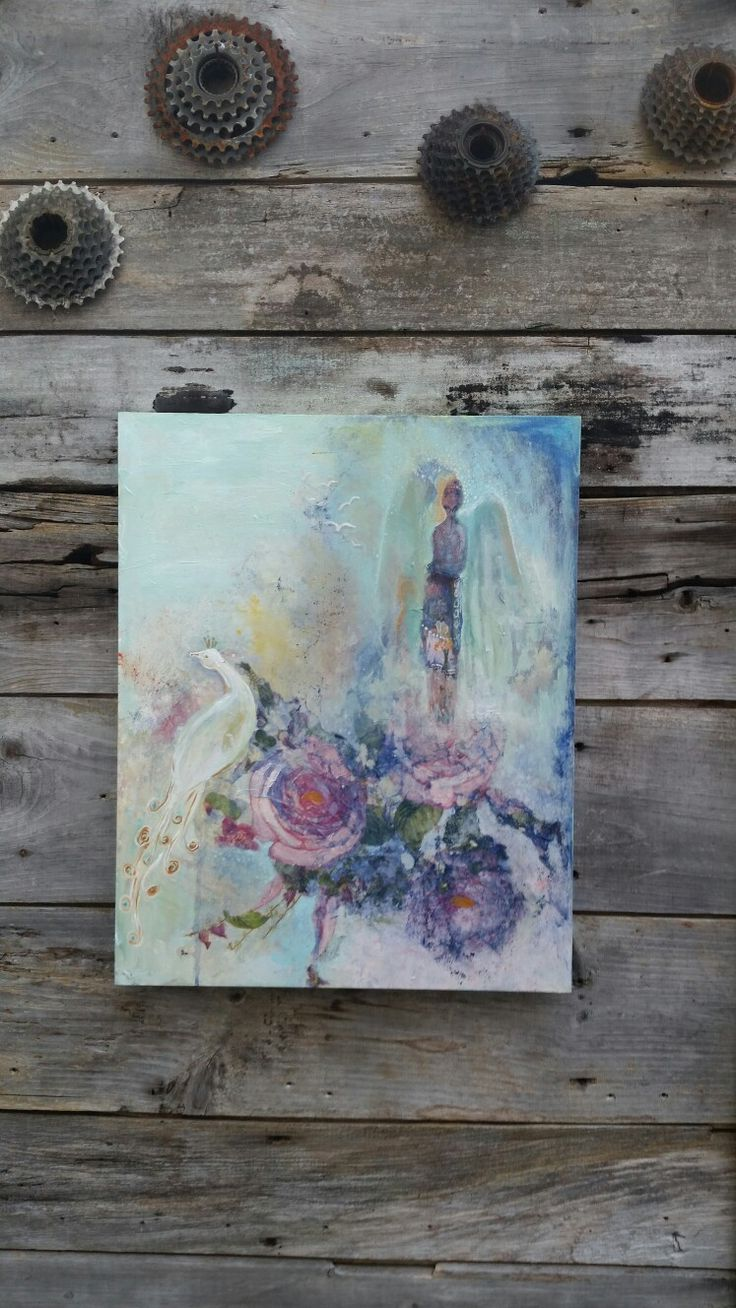 Mixed media intuitive painting.  Artist: victoria gilpin  Www.thesoulfulartist-victoriagilpin.com