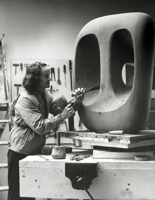 "Barbara Hepworth: ""I found one had to do some work every day, even at midnight, because either you're professional or you're not."""
