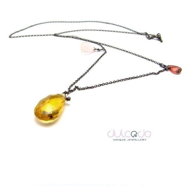 Energia czerni - DULCEDO biżuteria - biżuteria jest jak ubranie, bez niej czuję się naga