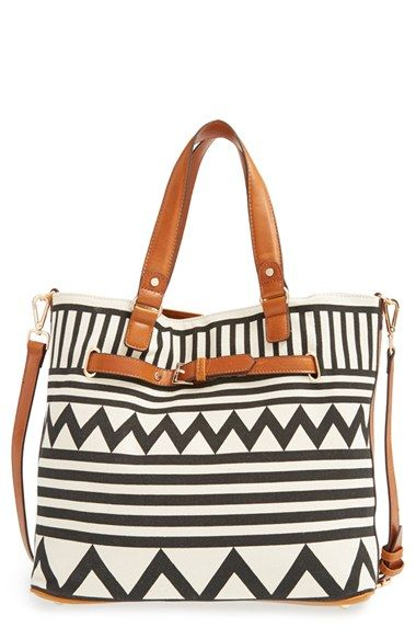 print tote / sole society