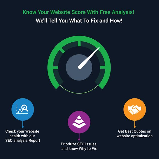 Know Your Website Score With Free Audit Report! We'll Tell You What To Fix and How ! 1. Check Your Website Health With Our SEO Analysis Report 2. Prioritize SEO Issues And know Why To Fix? 3. Get Best Quotes On website Optimization Grow Your Business Results With Tandem NZ Request Free Audit Here! www.tandemnz.co.nz/seo-audit/