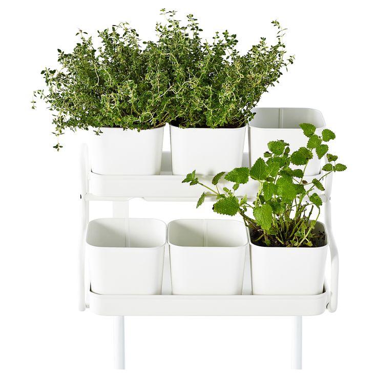 socker blumentopf mit halter ikea interior design utomhus krukor v xter. Black Bedroom Furniture Sets. Home Design Ideas