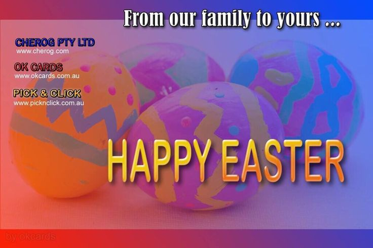 #cherog #picknclick #okcards Happy Easter!