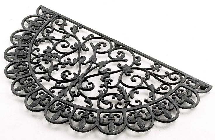 """""""Pinafore Lane"""" Lace edged Cast Iron Doormat - Cast Iron Door Mats - Living & Interiors - Home & Interiors - Catalogue   Black Country Metal Works"""