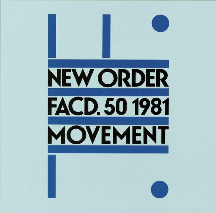 "New Order - Movement - Peter Saville based on Franco Casavola's ""Futurlieder"""