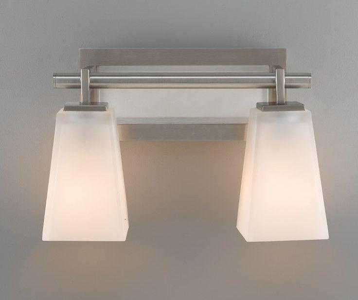 Allen Roth 3 Light Vallymede Brushed Nickel Bathroom Vanity Light Item 759828 Model B10021: Alabaster Rocks Aero 4-Light Bath Vanity Light