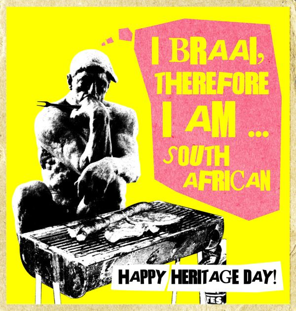 The braai philosopher   South African Heritage Day