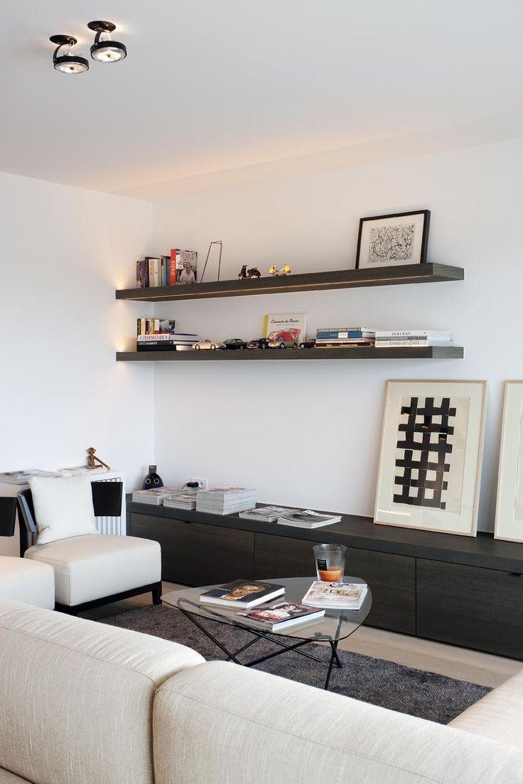 Chairs in contemporary living room nigel dalby architecture - Het Atelier Interieur Hooglede West Vlaanderen Project Project 2
