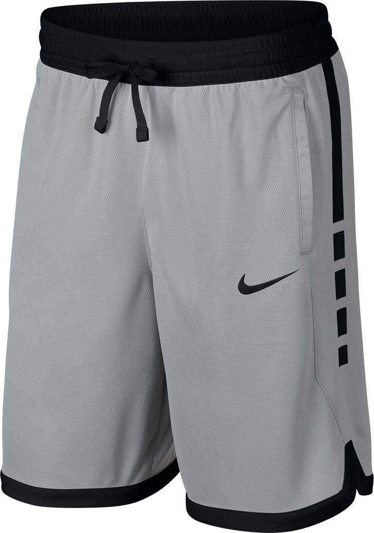 Nike Herren Dry Elite Stripe Basketball Shorts Grau September Children Basketball Children Dry Elite Grau Nike Shorts Nike Manner Manner Outfit