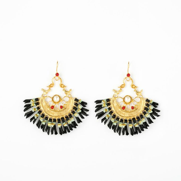 Profusion Earrings - Gold plated