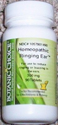 HOMEOPATHIC RINGING EARS BUZZING SOUND IN EAR AID RELIEF PILLS TREATMENT 90 TABS