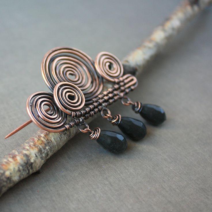 Wire Scarf Pin Tutorials - WIRE Center •