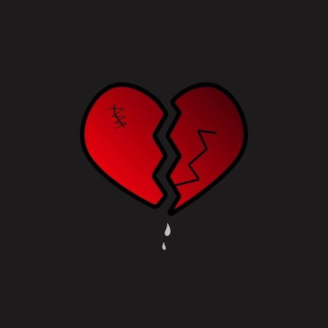 Heart Break Broken Heart Vector Illustration Valentine Break Breakup Png And Vector With Transparent Background For Free Download Broken Heart Wallpaper Broken Heart Heart Hands Drawing Awesome black broken heart wallpaper