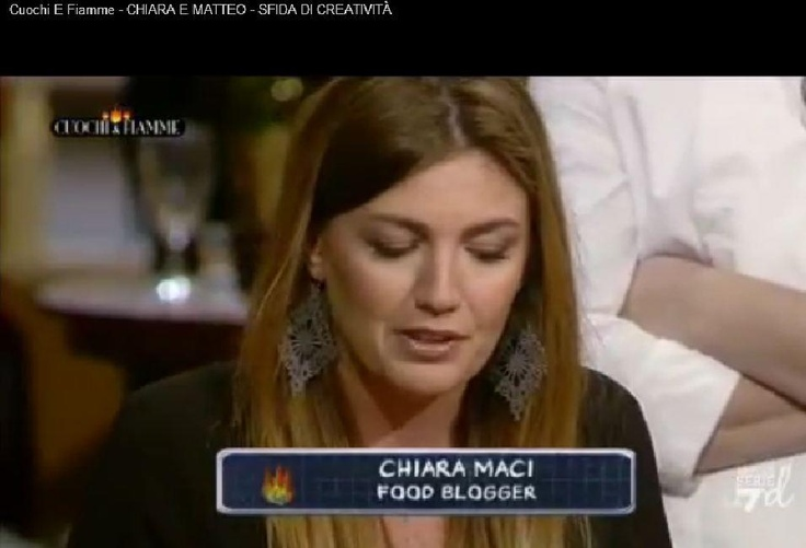 Chiara Maci (Food Blogger) with 4you4ever Design Macrame Earrings