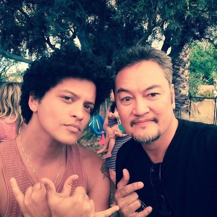 Bruno Mars and his uncle