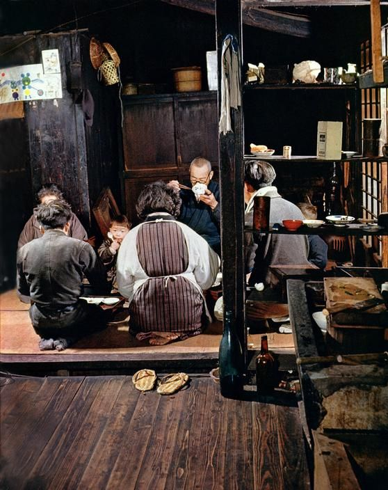 1950年代の日本の家族