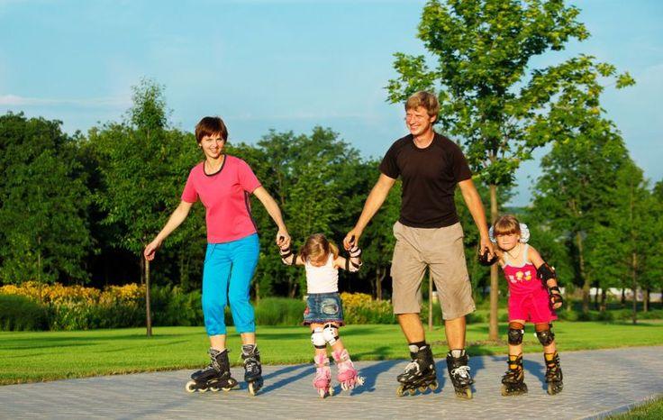 Почему полезно кататься на роликовых коньках? » Женский Мир