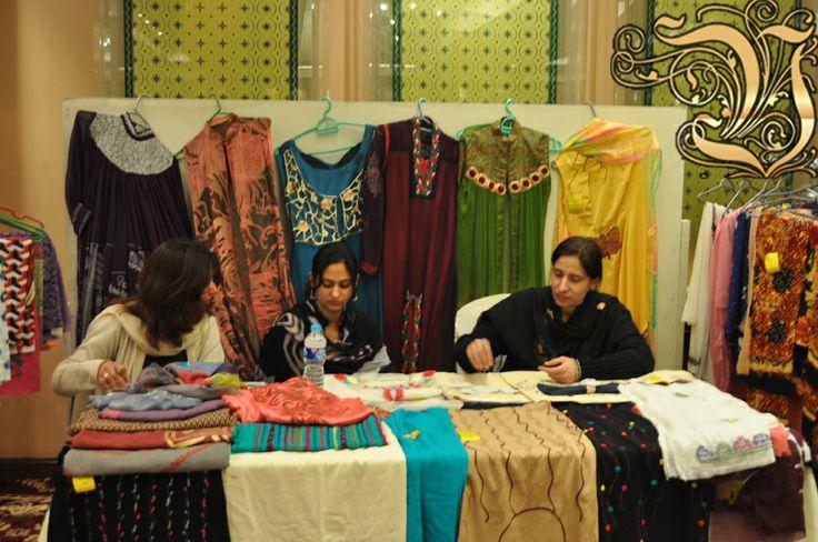 Fashion Exhibition at PC Rawalpindi 4 March 2014.