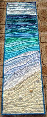 sea scape quilt