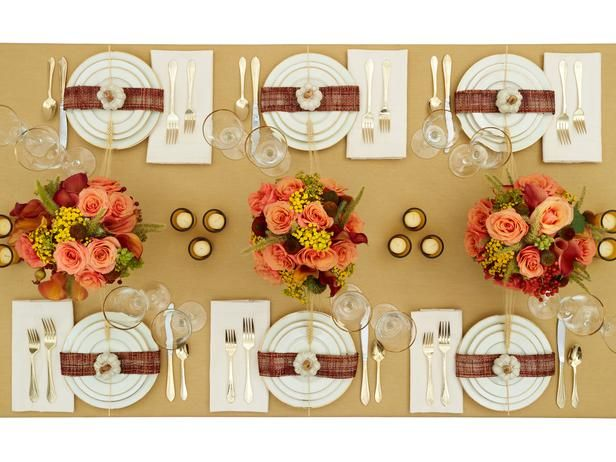 7 best formal dinner table decor images on pinterest How to set a thanksgiving dinner table