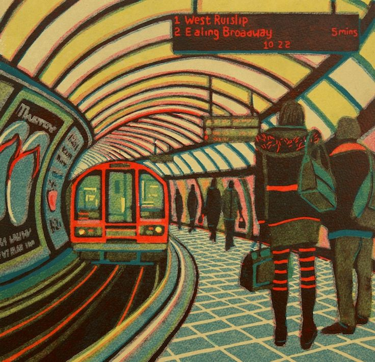 Gail Brodholt - Chronicler of everyday London journeys