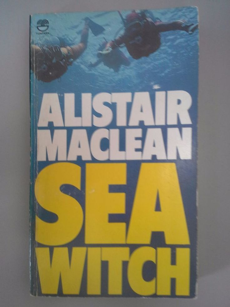 Sea Witch by Alistair Maclean GUC Free Post!! Paperback 1979