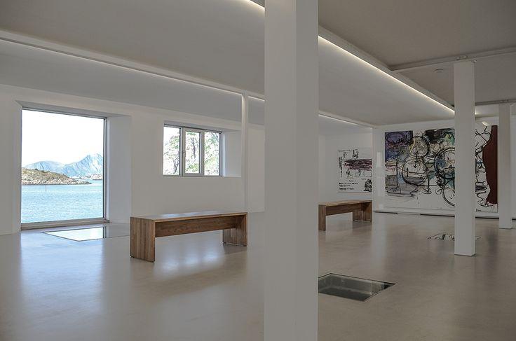 Galerie KaviarFactory in Henningsvær.