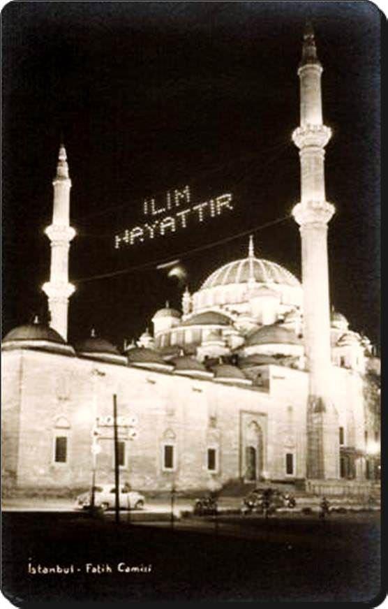 Fatih Camii - 1950 ler